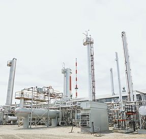 chemical processing plant photograph
